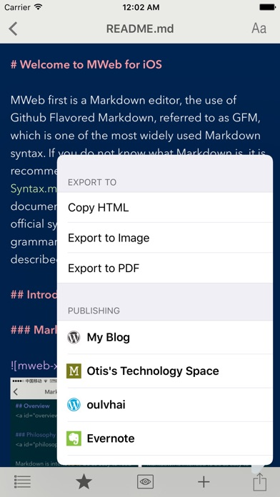 MWeb - Powerful Markdown App Screenshot