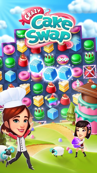 Crazy Cake Swap Screenshot