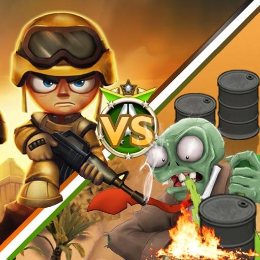 Ninja vs Zombies War in Desert iOS App