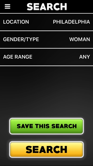 Adult Friend Finder App