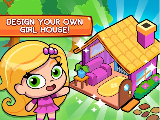 App Shopper My Girl 39 S Town Design Your Own Girl House Games