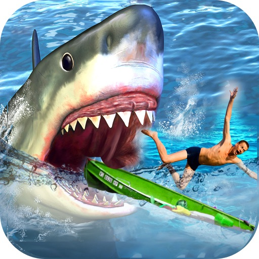Real Fishing Adventure : Super Shark Attack Game-s iOS App