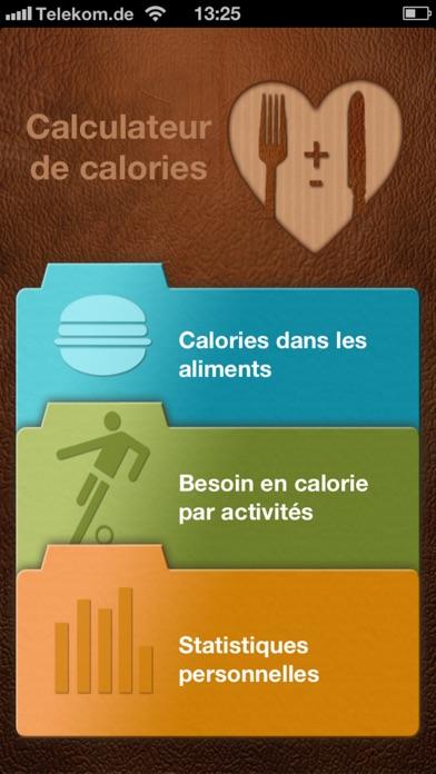 calculateur de calories dans l app store. Black Bedroom Furniture Sets. Home Design Ideas