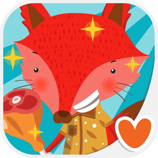 Kids Animal Game - The Fox & Chicken, Play & Learn