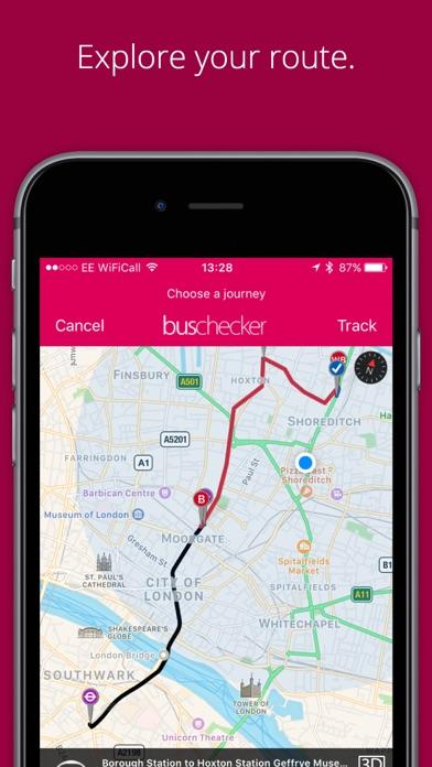 London Bus CheckerCapture d'écran de 4