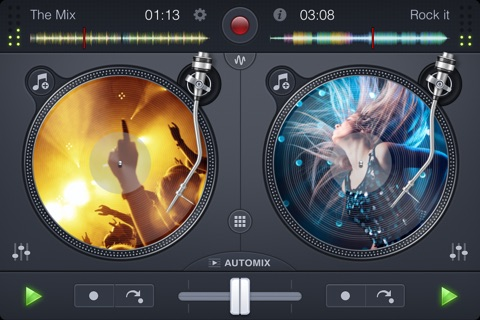 djay 2 for iPhone screenshot 2