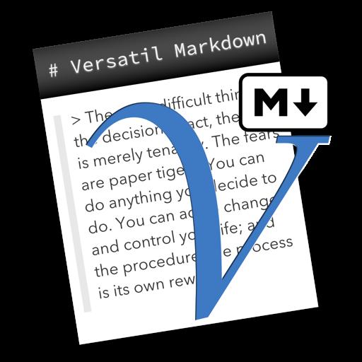 Versatil Markdown