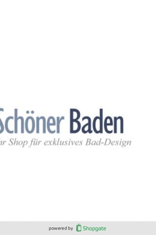 Schöner Baden Shop-App screenshot 1