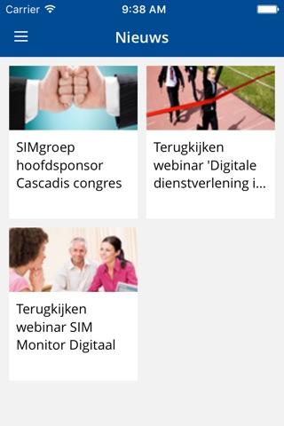 SIMgroep screenshot 2