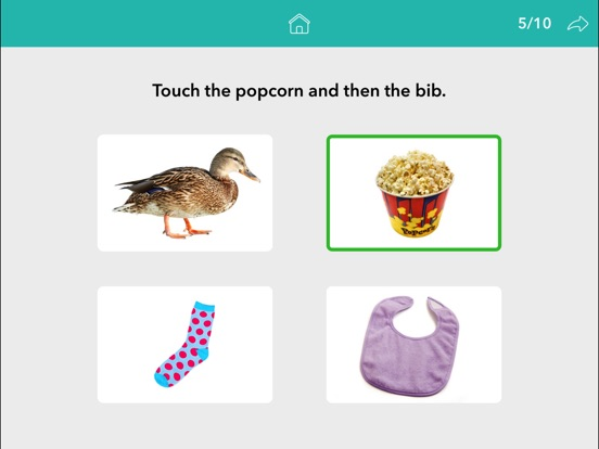 Screenshot #3 for Following Directions by Teach Speech Apps