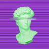 Vaporwave Glitch - Aesthetic Art for Video & Photo