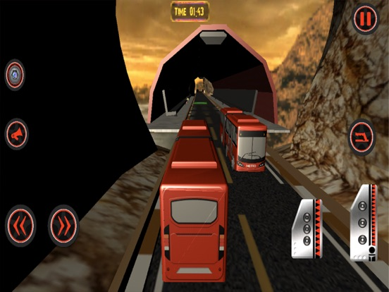 Hill Metro Bus Simulator 3d screenshot 5