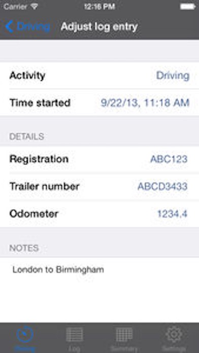 download TruckerTimer appstore review