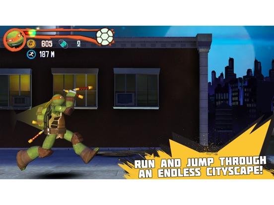 Teenage Mutant Ninja Turtles: Rooftop Run iPad