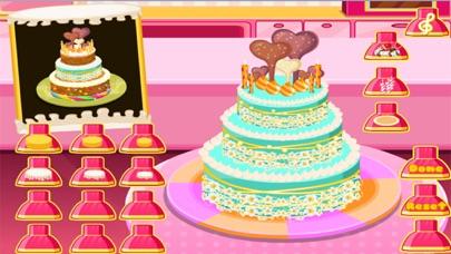 العاب طبخ كعكة ماما سارة الجميلة - العاب بنات طبخلقطة شاشة5