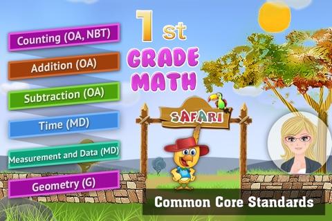 1st Grade Math: Count, Add, Subtract Fun Game screenshot 1