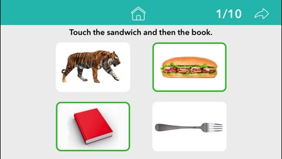 Screenshot #8 for Following Directions by Teach Speech Apps