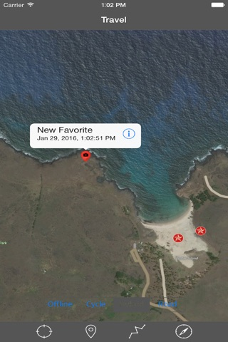 EASTER ISLAND – GPS Travel Map Offline Navigator screenshot 3