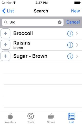 Grocophile screenshot 2