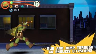 Teenage Mutant Ninja Turtles: Rooftop Run iPhone