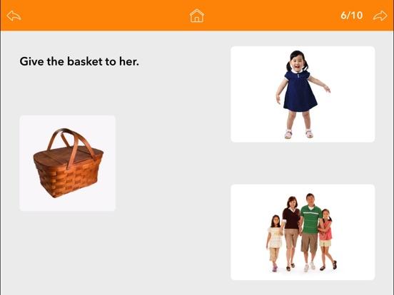 Screenshot #4 for Pronouns by Teach Speech Apps