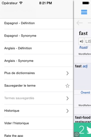 WordReference Dictionary screenshot 3