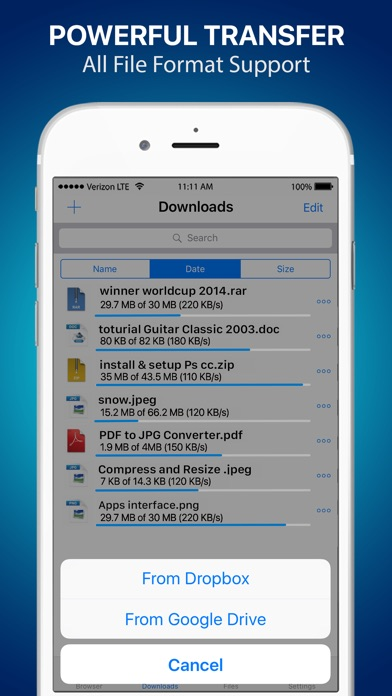 download Files Free - Private Browser, Music Video Manager apps 1