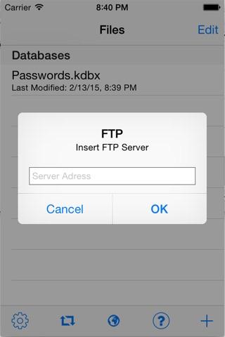 KeePass Touch screenshot 4