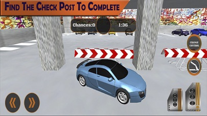 Extreme Multi Level Parking: The real Driving Test