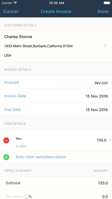 Uscis Receipt Number Lookup Excel Invoice Generator  Zoho On The App Store Invoicing With Excel with Walmart Returns No Receipt Iphone Screenshot  Green Card Receipt Number Word