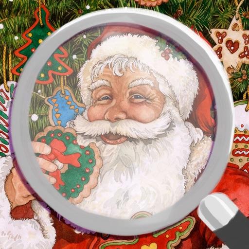 違いを探そう:クリスマス版‐無料のファミリー向けパズル。大人も子供も楽しめます。絵:ウェンディ エデルソン