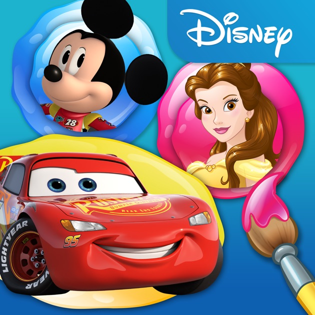 Disney Color And Play On The App Store