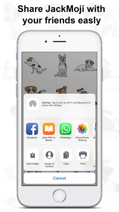 JackMoji - Jack Russell Emoji & Stickers Screenshot 2