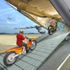 Airplane Bike Cargo Transport