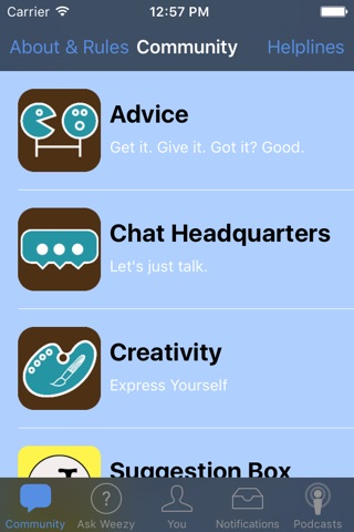 Journals Out Loud: Advice Community screenshot 1