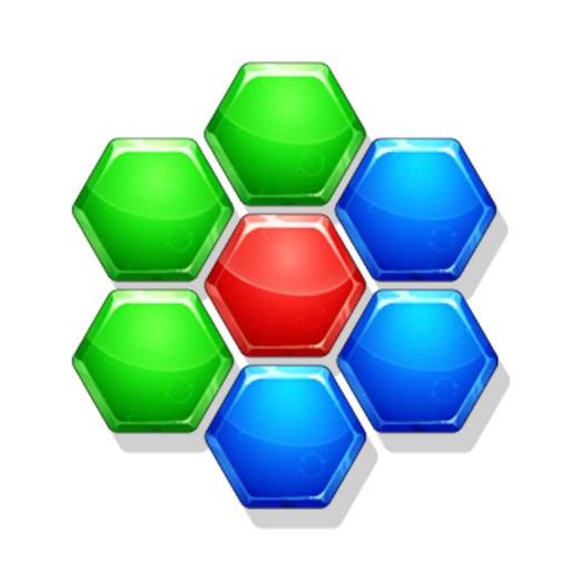 ろっかくパズル - 暇つぶし に最適の簡単なパズル ゲーム