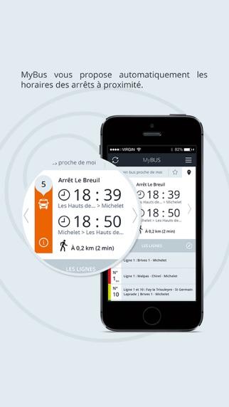 Screenshot of MyBus - Edition Nice3