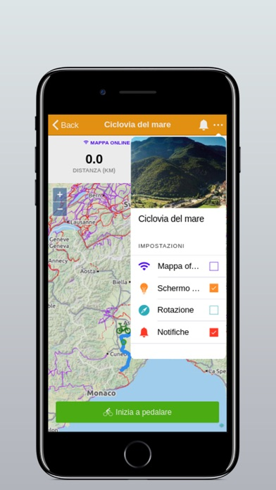 Screenshot of Cicloturismo Piemonte1