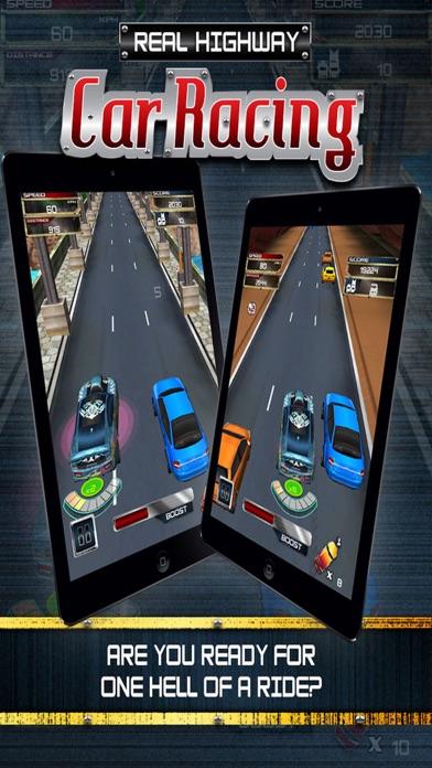 Real Highway Car Racing : The Ultimate Challenge Screenshot