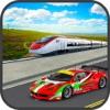 Bullet Train vs Car Racing Simulator 2017