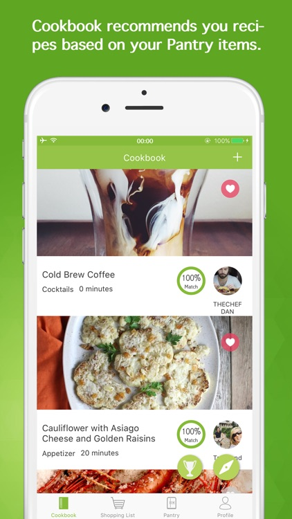 Chefling Shopping List Inventory Recipes by Chefling Inc