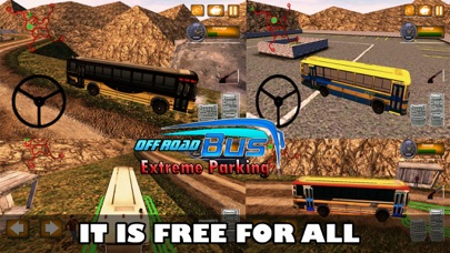 Off-road Driving Bus : Xtreme ParkingСкриншоты 3