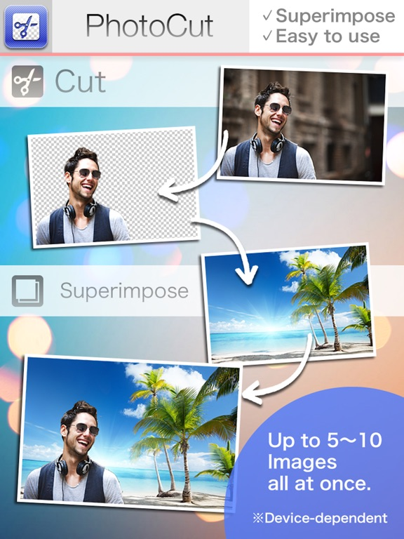 PhotoCut-Superimpose & Eraser Screenshots