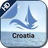 Croatia boating gps Nautical offline sailing chart