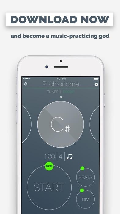 Pitchronome - Tuner + Metronome Screenshots