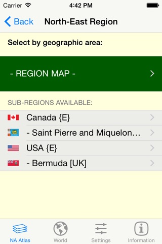 mapQWIK NA - North America Zoomable Atlas screenshot 2