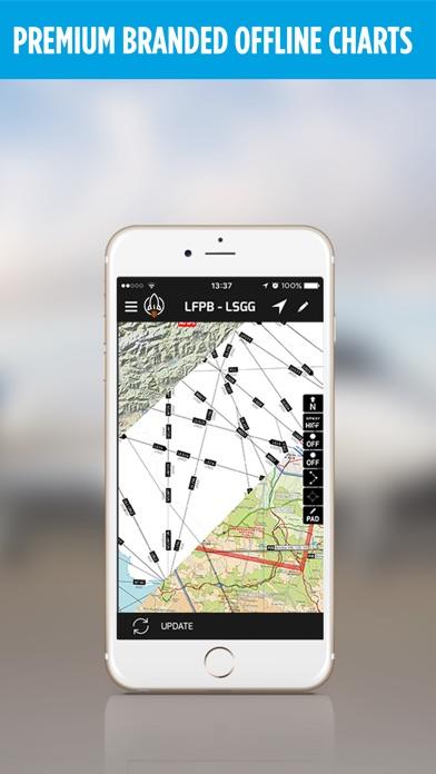 Rocketroute Flightplan review screenshots