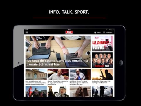 RMC : Info Talk Sport screenshot 1