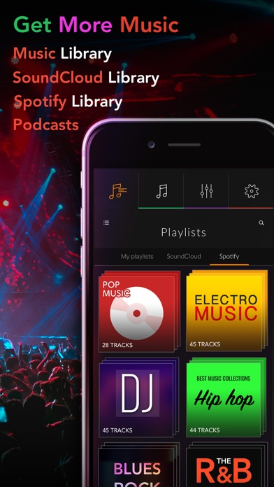 Screenshot #6 for Equalizer+ Pro Music Player and Volume Booster