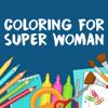 Mufidatul Hasanah - Coloring Book for Wonder Woman fans artwork